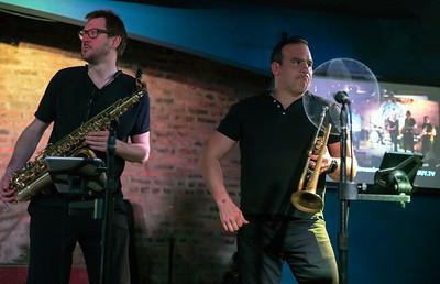 Aaron Liddard (l) and Giles Straw | Sugaray Rayford Band