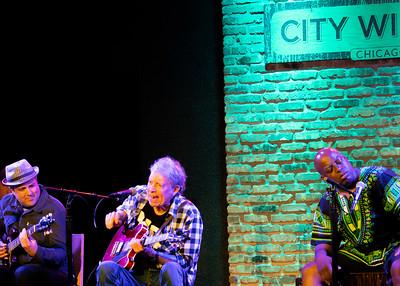 (l-r) Bob Welsh, Elvin Bishop and Willy Jordan