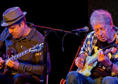 Bob Welsh (l) and Elvin Bishop