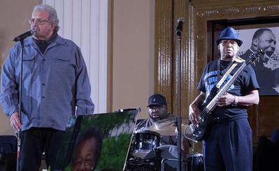 (l-r) Barry Dolins, Big Lou and Freddie Dixon