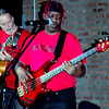 The No Static Blues Band - (l-r) Illinois Slim and Jeff LeBon