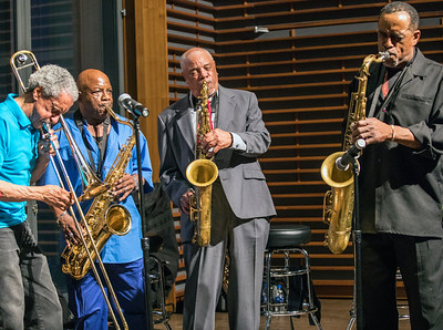 (l-r) Bill McFarland, Charlie Kimble, Rodney Brown and Hank Ford