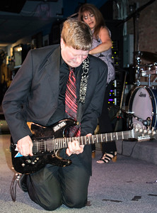 Dave Weld (Monica Myhre in background) | Dave Weld and the Imperial Flames