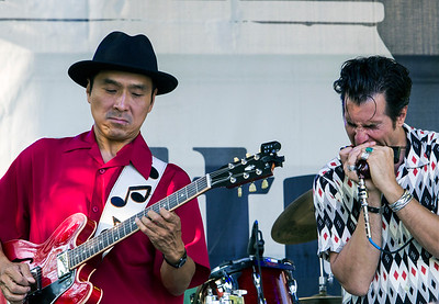 Morry Sochat & The Special 20s | Shoji Naito (l) and Morry Sochat