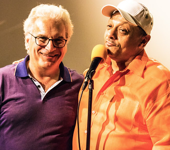 (l-r) Motor Row Bob and Kirk (Original Chicago Blues Allstars Anniversary Party and Awards )   Motor Row Brewing
