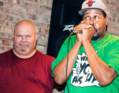 Steve Bell (r) (Original Chicago Blues Allstars Anniversary Party and Awards ) | Motor Row Brewing