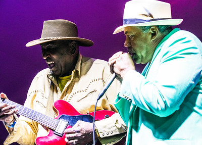 9.2.17 @ Paramount Music Fest, Port Washington, WI | Eddy Clearwater (l) with Billy Branch