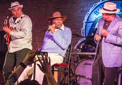 5.3.17 @ Little Walter Birthday Celebration, Legends | (l-r) Ronnie Baker Brooks, Eddy Clearwater and Billy Branch