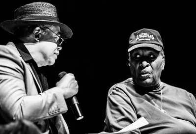 OCT 13-15, 2017 @ Logan Center Blues Fest, University of Chicago | (l-r) Billy Branch and Eddy Clearwater