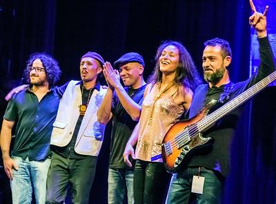 Vanessa Collier Band   (l-r) Patricio Peña, Julián Arcos, Carlos De Aguinaga, Vanessa Collier and  Carlos Orozco