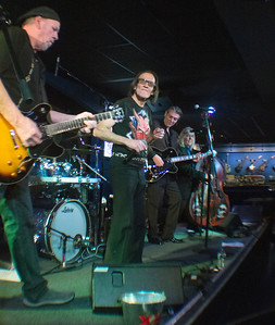 (l-r) Tommy Grmusich, Krazy Eddie Bloom, Tommy Wittrock and Billy Corston