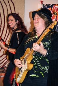 (l-r) Heather Tackett Falduto and Lori Lewis (aka Low-reen)