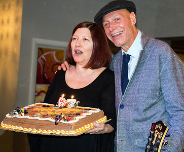 Frank celebrates 67 years young