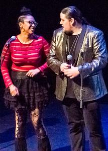(l-r) Sharisse Norman and Ashton Riker