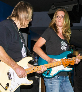 Walter Trout Band | (l-r) Walter Trout and Kate Moss