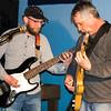 Matt Dodge (l) and unknown guitarist
