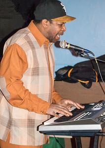 Keyboard player for Mr. Rhythms band