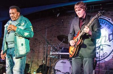 (l-r) Willie Buck and Thaddeus Krolicki
