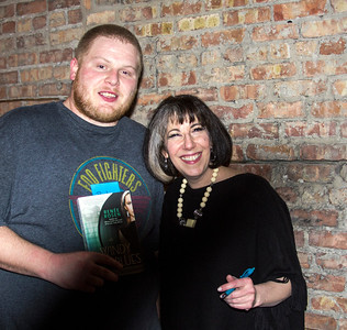 Mike (Motor Row Brewing) and Author Renee Rosen