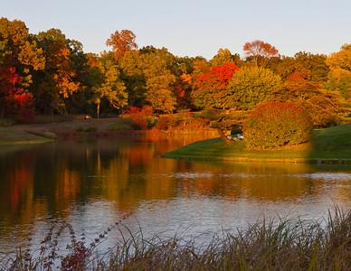 Autumn at the Chicago Botanic Garden