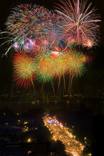 Venetian Night Fireworks in Chicago