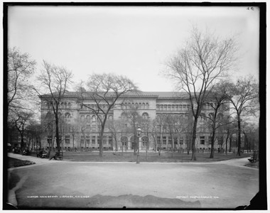 Title: Newberry Library, Chicago Related Names:    Detroit Publishing Co. , publisher Date Created/Published: [ca. 1900]   http://www.loc.gov/pictures/item/det1994014489/PP/