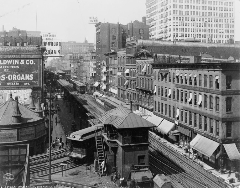 Title: Wabash Ave., Chicago, Ill. Date Created/Published: c1907.   http://www.loc.gov/pictures/item/96504942/