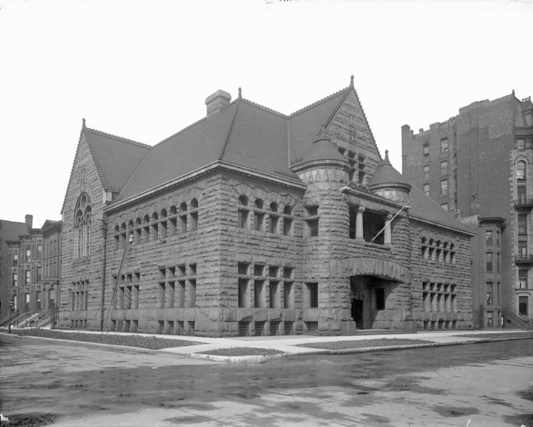 The Chicago Historical Society was founded in 1856, but its first building and virtually all of its early collections were lost in the Great Chicago Fire. This structure, the Society's third home, was built on the same site as the first two, at the northwest corner of Dearborn and Ontario Streets. After the Chicago Historical Society moved to its current location at Clark Street and North Avenue in 1932, this building went through a series of owners and uses, though the original name remains inscribed in stone over the entrance.  Photographer: Barnes-Crosby Source: Chicago Historical Society (ICHi-19139)   http://encyclopedia.chicagohistory.org/pages/10590.html