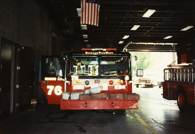 Chicago Fire Department : Eng76 Trk35 1990's