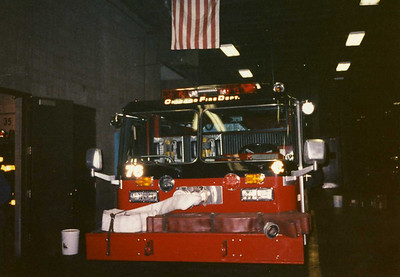 Chicago Fire Department :Engine 76 Truck 35 - 1990's