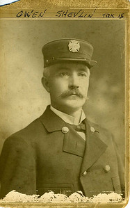 Firefighter Owen Shevlin ... Great Grandfather from Ireland (Drogheda)