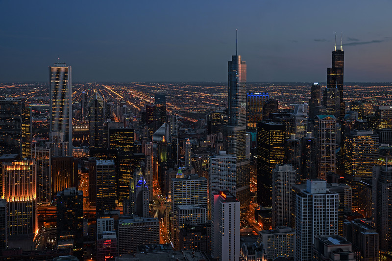Chicago From 1000 Feet (I)