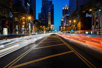Michigan Avenue On The Move