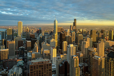 Chicago From 1000 Feet (V)