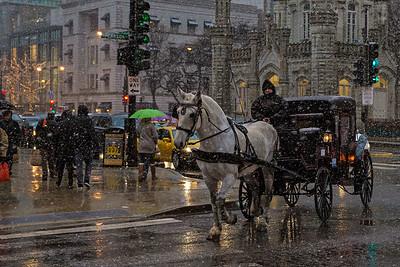 A Chicago Winter Scene