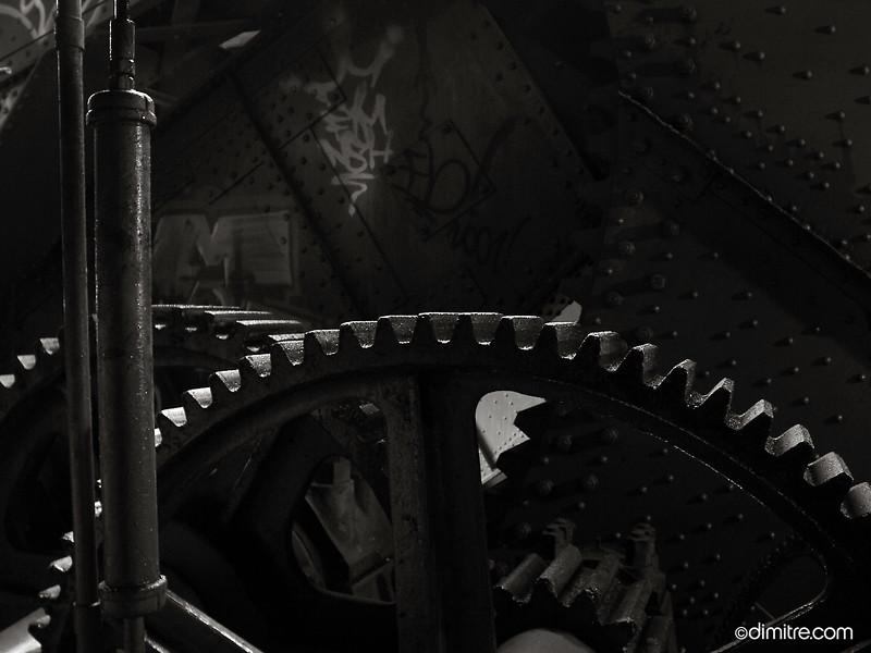 Bascule Bridge Gear 028