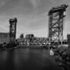 Chicago Amtrak Railroad Bridge Pan BW8433