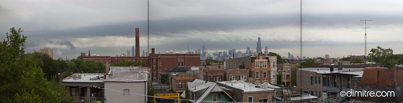 Chicago From Humboldt C 6934