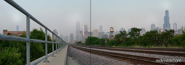 Chicago Metra Trackline 241