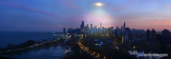 UFO Over Chicago 532