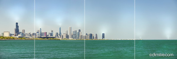 Chicago Southshore Skyline 5886