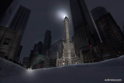 Old Chicago Water Tower 4193
