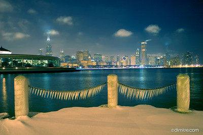 Ice Chain Blue Chicago 4857