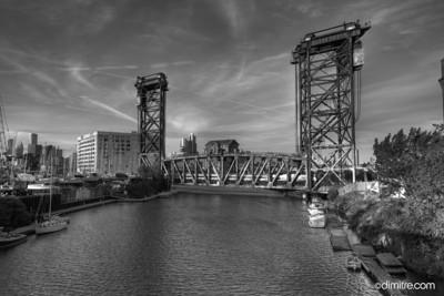 Chicago Amtrak Railroad Bridge BW8436