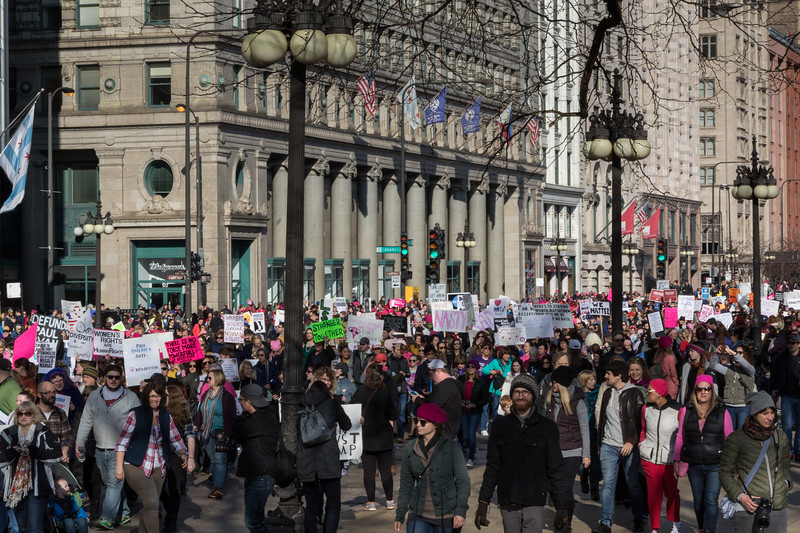 Women's March in Chicago - 1/21/17