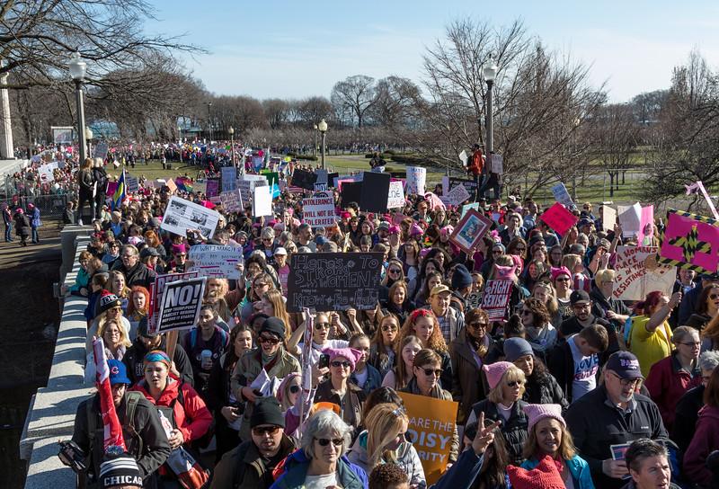 Women's March in Chicago - 1/21/17