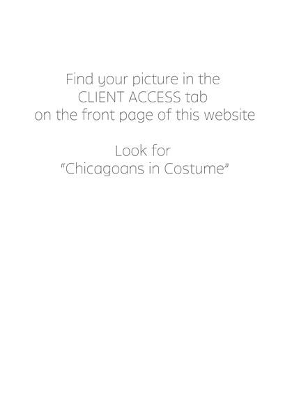 Chicagoans in costume