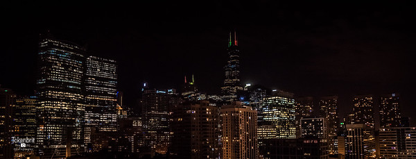 Chicago Holiday Skyline LR-8750