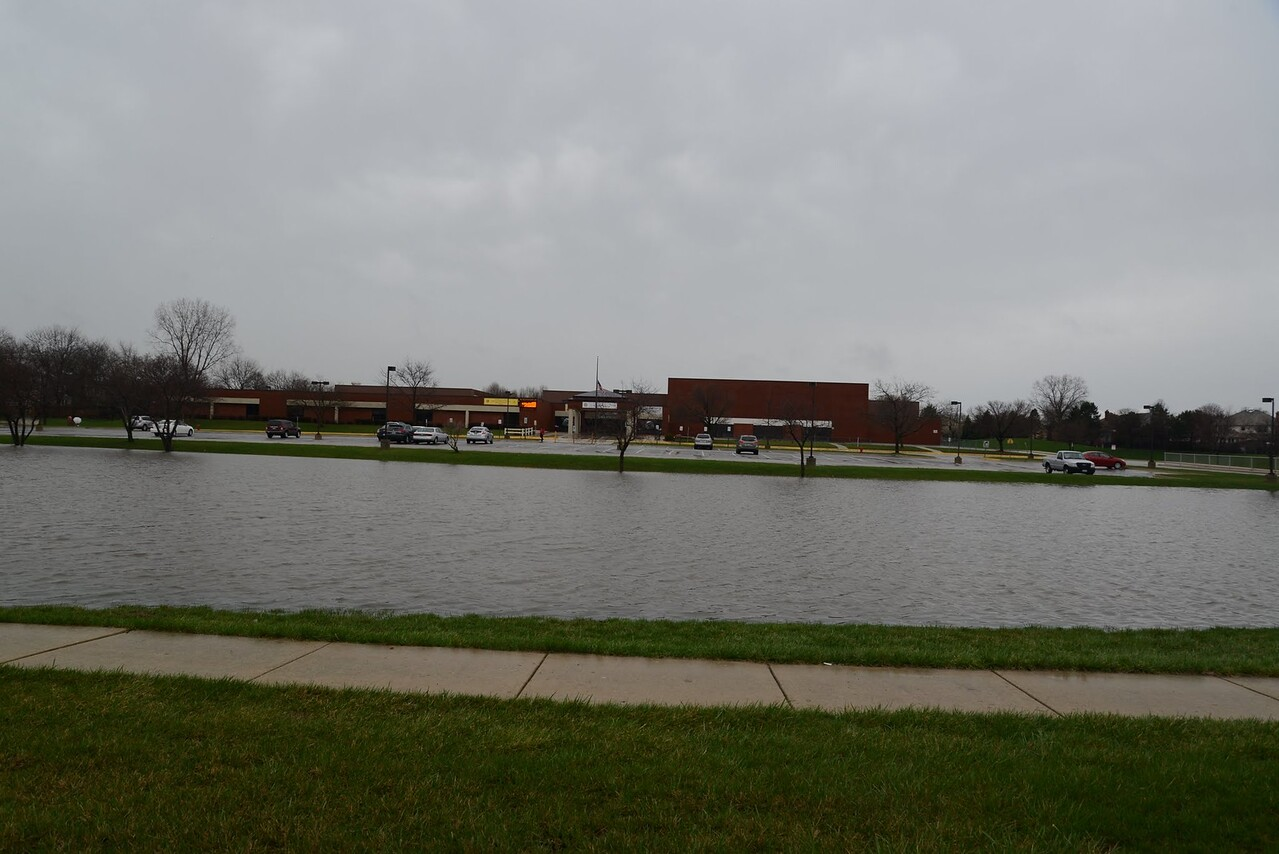 Kennedy Junior High Schools new swimming pond!!!  Naperville Il