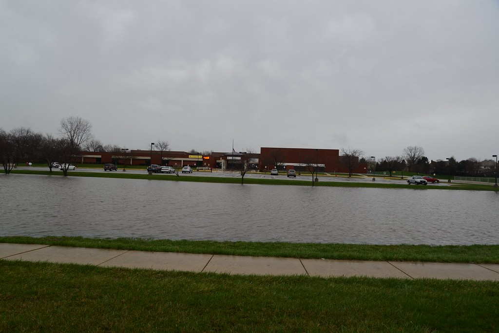 Kennedy Junior High Schools new swimming pond!!!  Naperville Il